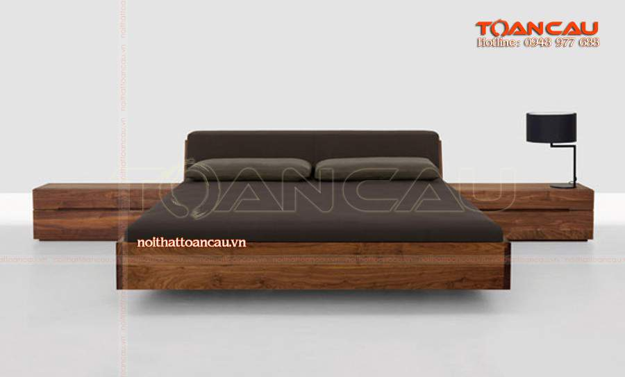 Mẫu giường ngủ gỗ sồi - TC1101