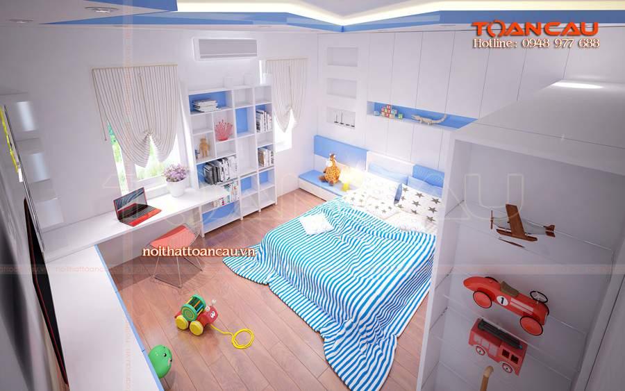 giường hộp gỗ