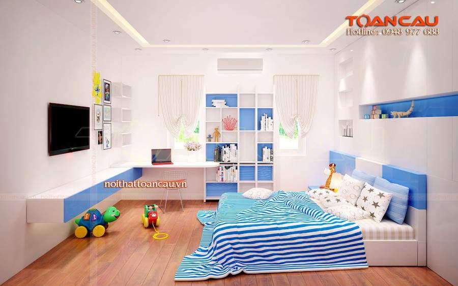 Trang trí phòng ngủ diện tích nhỏ cho bé