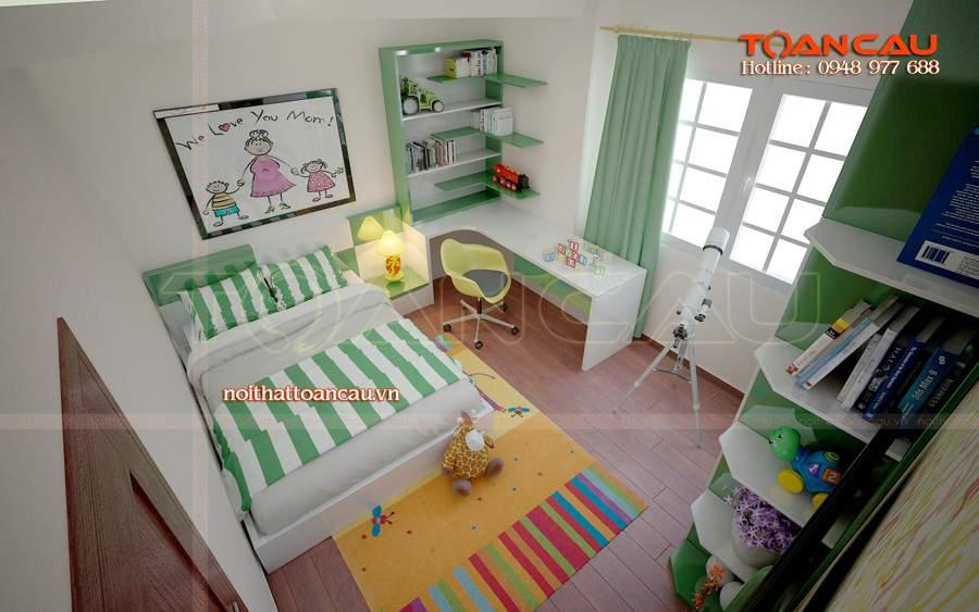 Bán giường ngủ trẻ em giá rẻ, giường ngủ gỗ an toàn