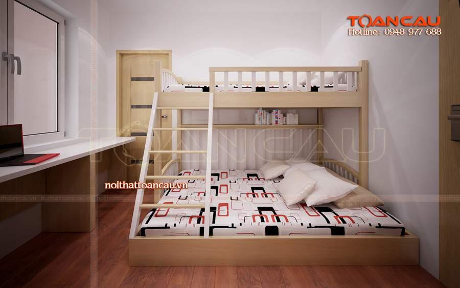 giường tầng trẻ em ở hà nội, giường tầng trẻ em giá rẻ hà nội màu hiện đại