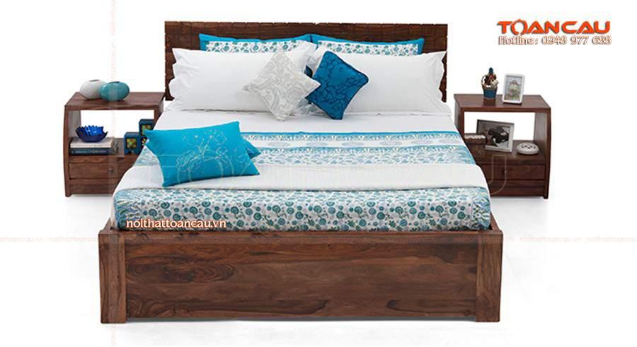 Giường gỗ đẹp Bình Dương cho mọi căn phòng