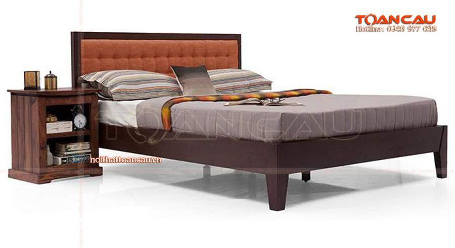 Mẫu giường ngủ gỗ sồi - TC1102