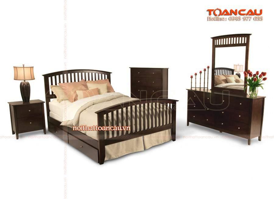 đóng giường gỗ giá rẻ, đóng giường ngủ giá rẻ tốt nhất