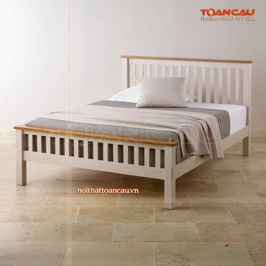 giường ngủ 1m, giường đơn 1m đẹp hiện đại