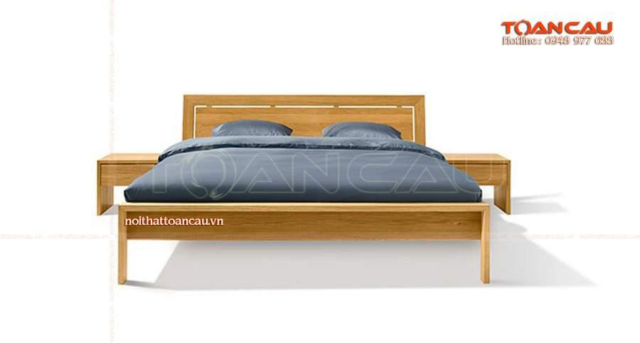 Giường gỗ tự nhiên bền