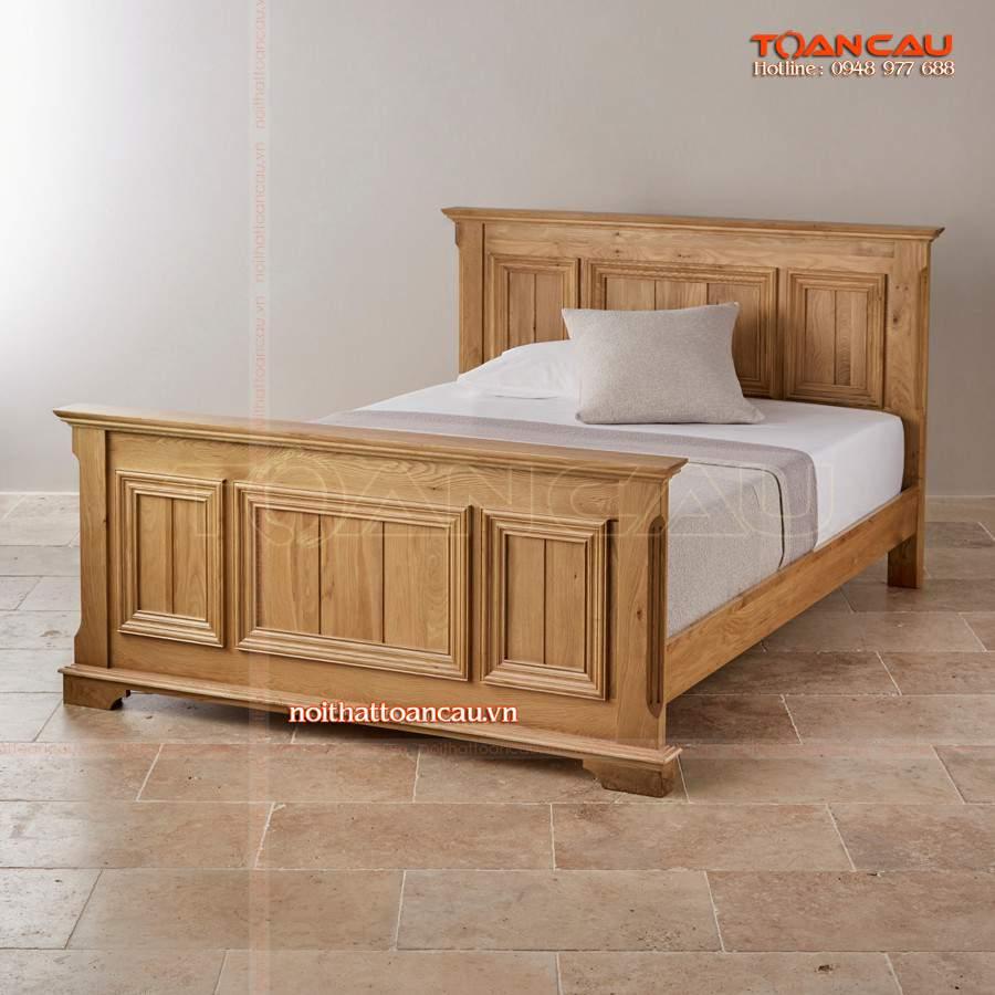 Giường ngủ gỗ Hương