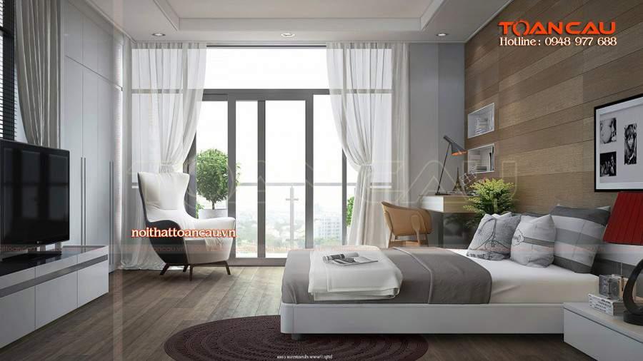Mẫu giường ngủ đẹp hiện đại, kệ Tivi gỗ đẹp bán với giá rẻ, bảo hành trong vòng 3 năm khi sử dụng.