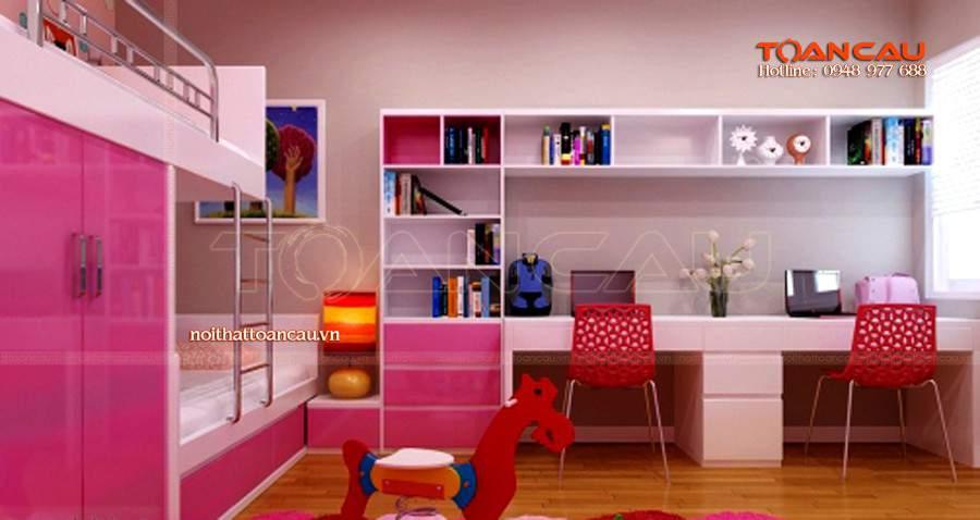 giường tầng trẻ em hà nội, giường tầng trẻ em ở hà nội cho bé gái