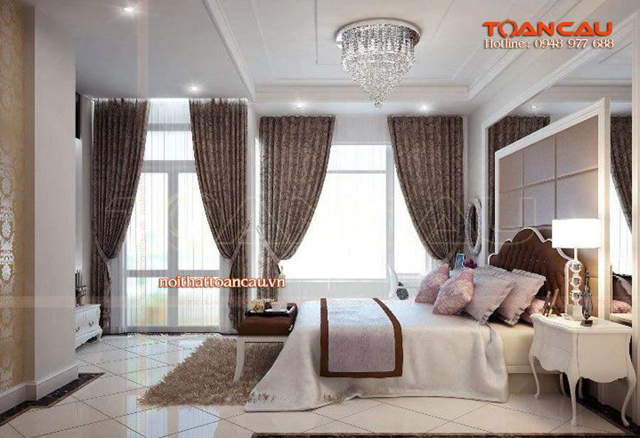 Mẫu giường ngủ hiện đại nhất được thi công tại Công ty nội thất Toàn Cầu
