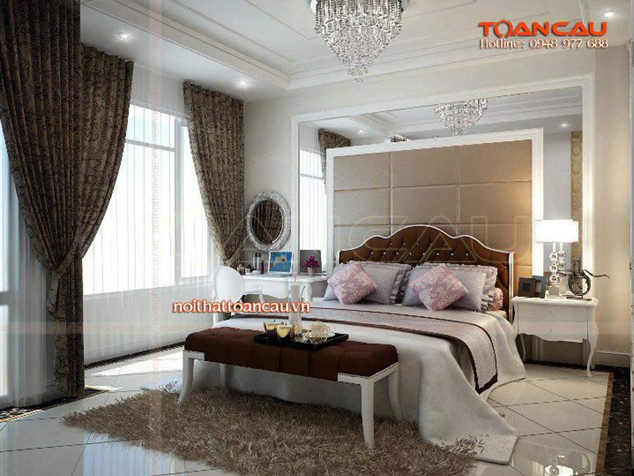 Mẫu giường ngủ hiện đại nhất được các gia đình lựa chọn nhiều nhất hiện nay.