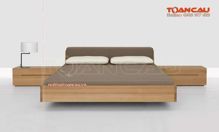 các mẫu giường gỗ tự nhiên đẹp sang nhất