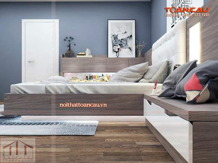 Sofa giường gỗ rất bền khi sử dụng, gỗ tự nhiên làm bằng gỗ Óc Chó tốt nhất