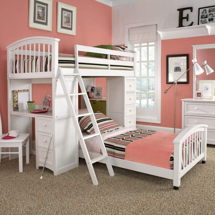 Giường tầng đa năng kết hợp bàn học rất tiện