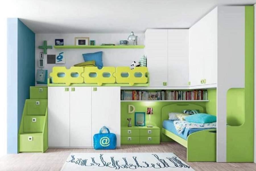 Giường tầng đa năng kết hợp bàn học