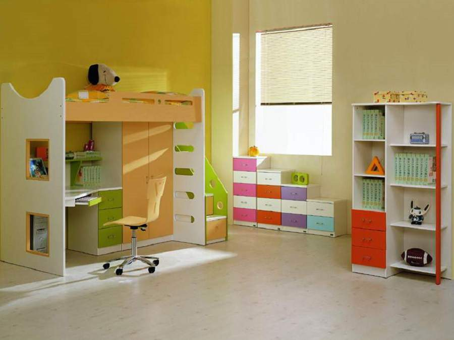 Những món đồ nội thất cho bé hiện đại