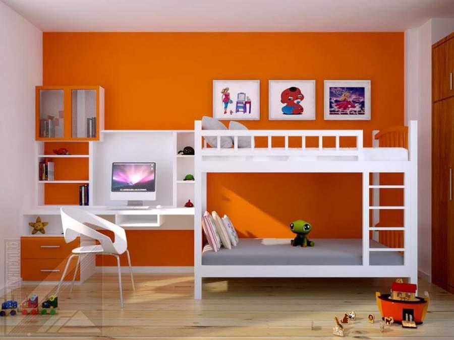 Chú ý chọn màu sắc những mẫu giường tầng