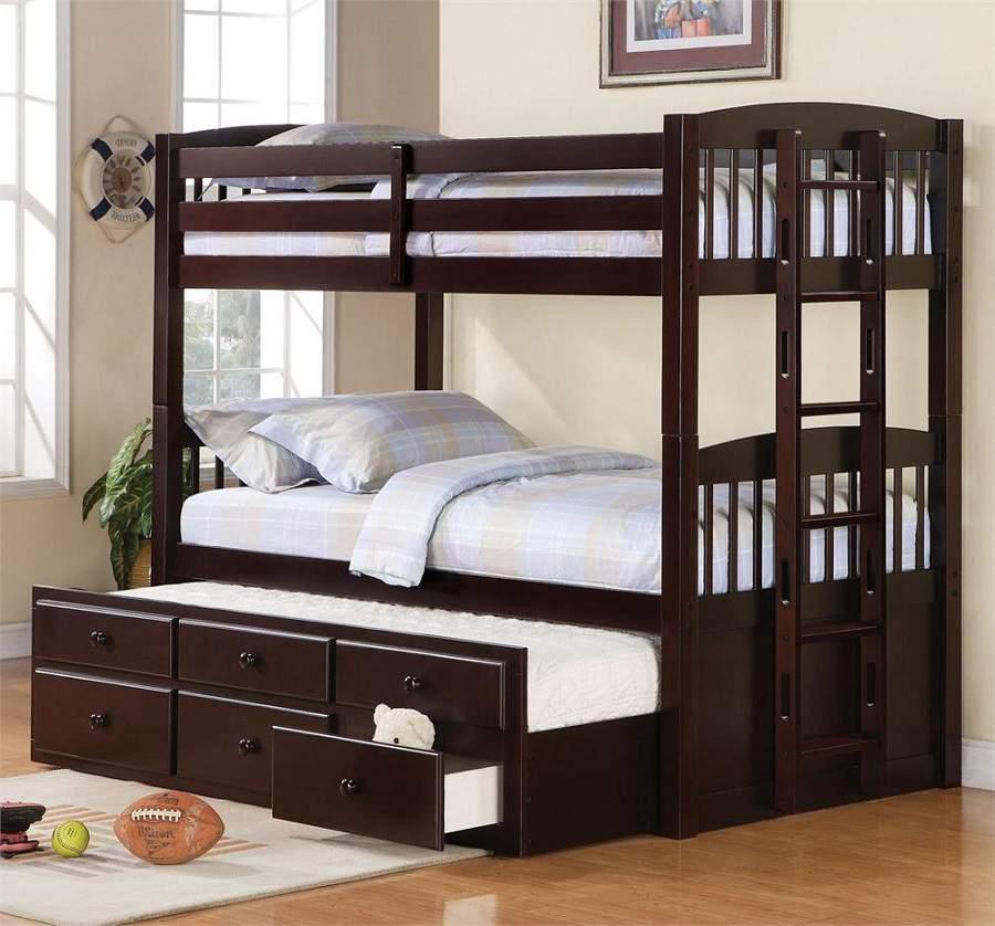 Không gian phòng ngủ của bé cần những chiếc giường tầng để tiết kiệm không gian