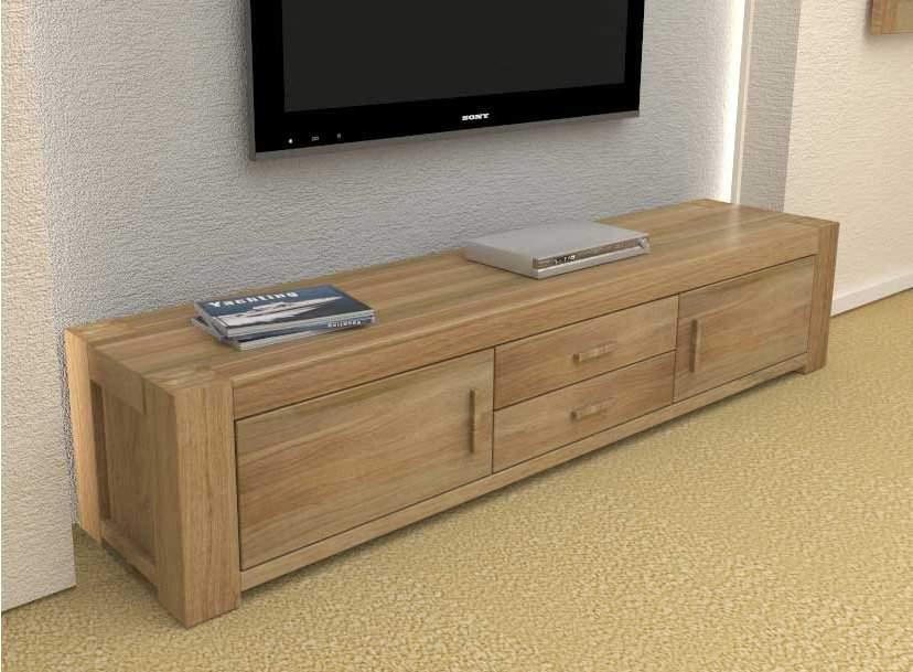 Kệ tivi gỗ sồi – TC15122