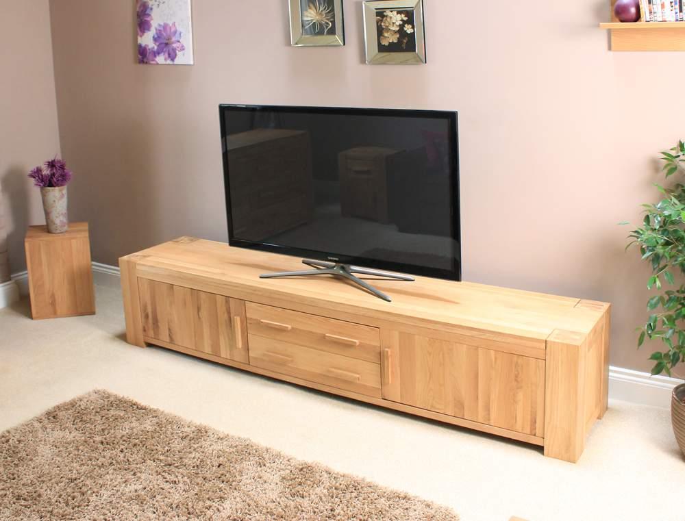 Kệ tivi gỗ sồi – TC15121