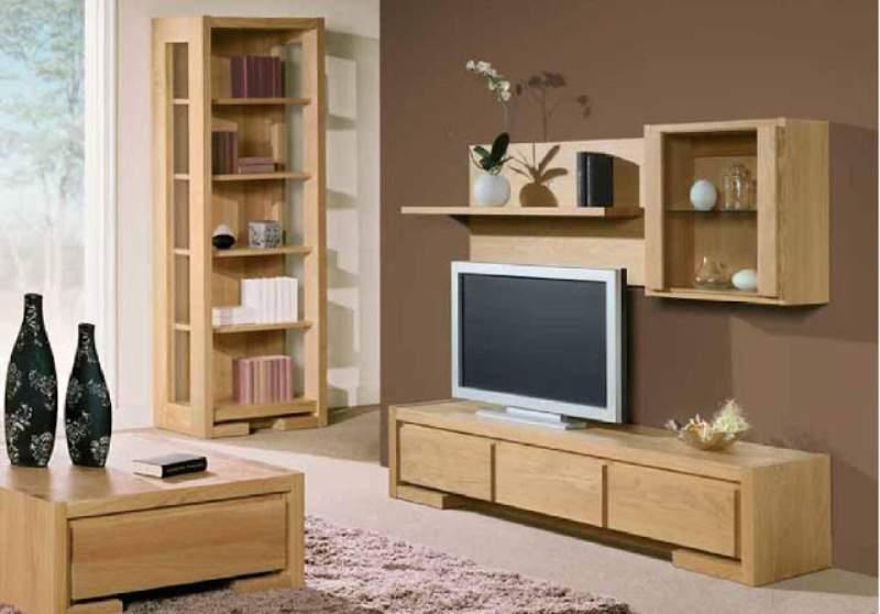 Kệ tivi gỗ sồi – TC15125