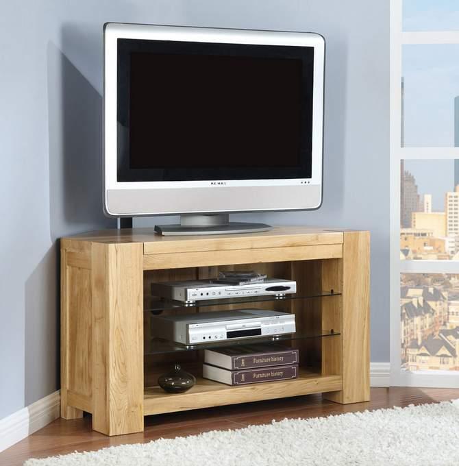 Kệ tivi góc bằng gỗ - TC16141