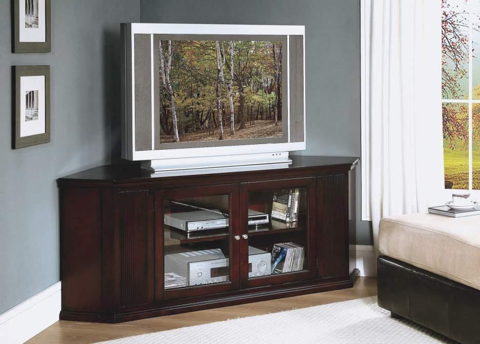 Kệ tivi góc bằng gỗ - TC16145