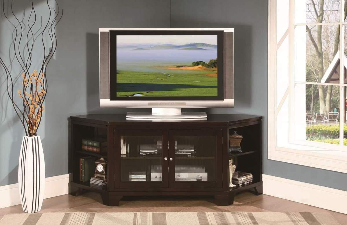 Kệ tivi góc bằng gỗ - TC16146