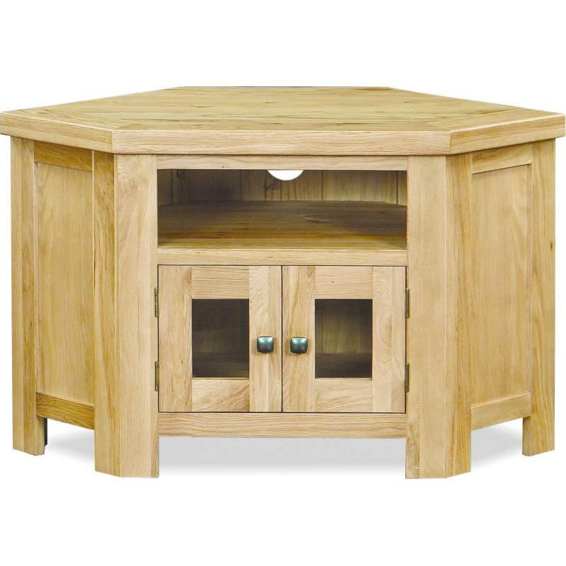 Mẫu kệ tivi góc bằng gỗ - TC30224