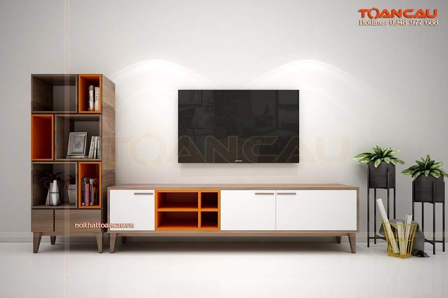 Kệ tivi phòng khách chung cư nhỏ - TC360