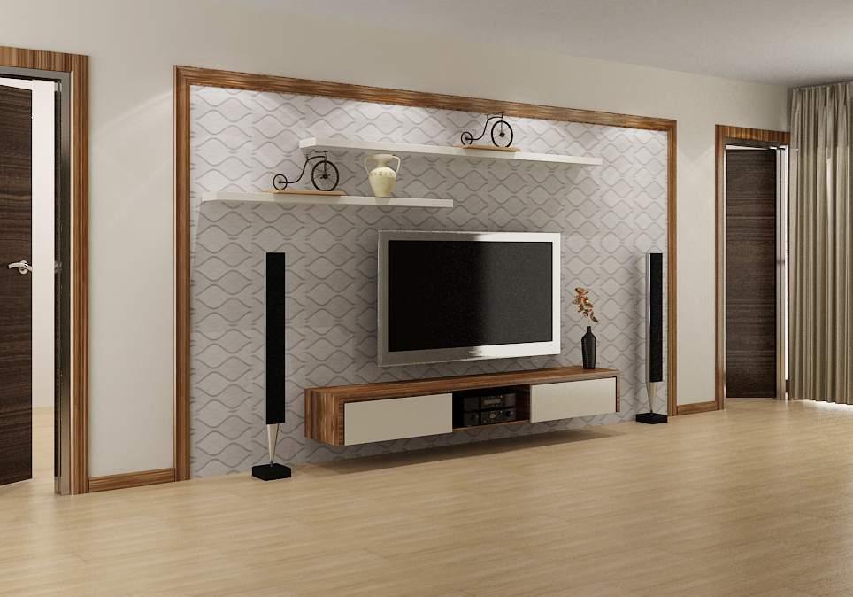 Mẫu kệ tivi cho phòng khách nhỏ - TC16182