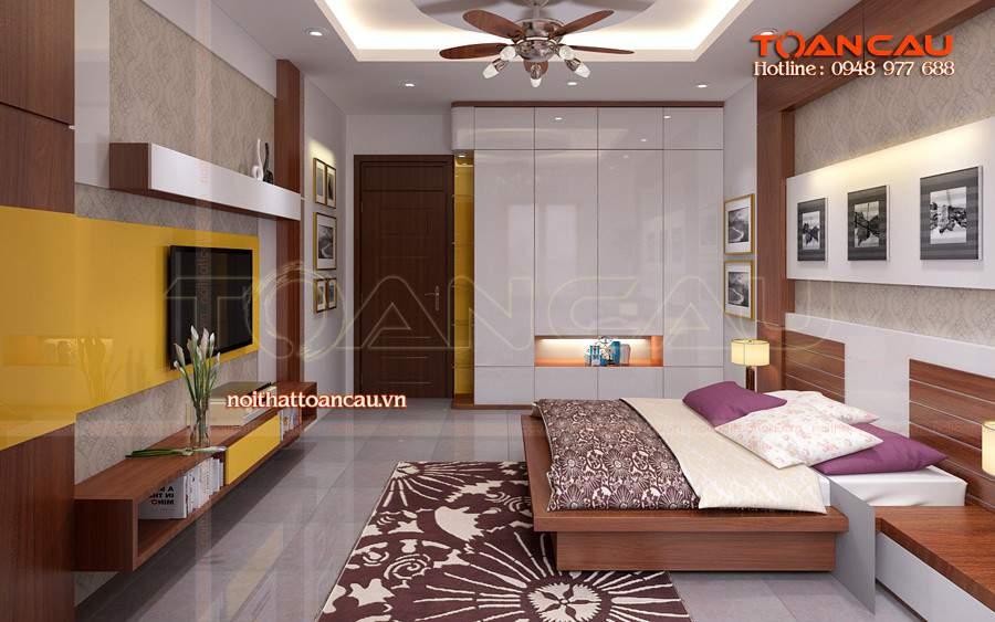 kệ tivi hiện đại tphcm cho phòng ngủ ấm áp