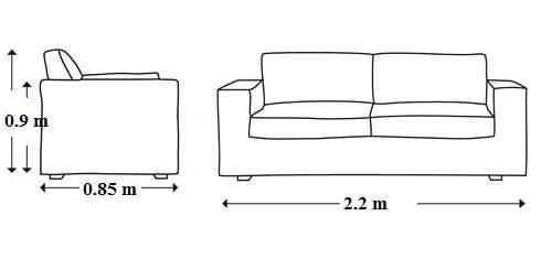 Kích thước ghế gỗ rất quan trọng