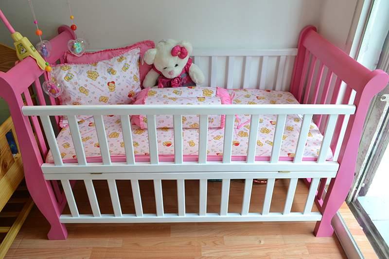 Kích thước giường ngủ cũi cho bé