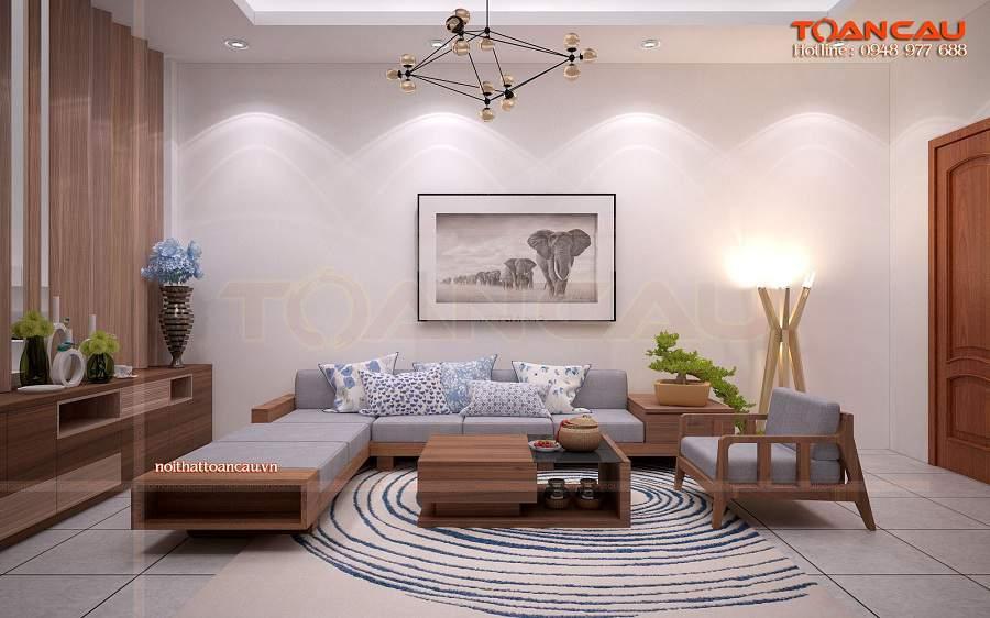 Bàn ghế gỗ phòng khách giá bình dân giá tốt