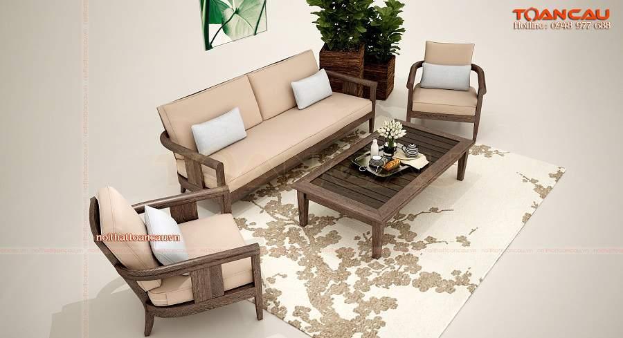 Sofa cho chung cư nhỏ sang trọng
