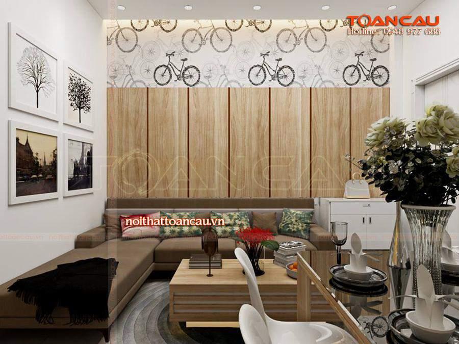 Mẫu bàn ghế Sofa phù hợp với nhà chung cư mang phong cách hiện đại được các gia đình lựa chọn nhiều nhất hiện nay