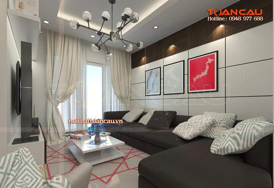 Mẫu bàn ghế Sofa phù hợp với nhà chung cư được các gia đình lựa chọn nhiều nhất hiện nay