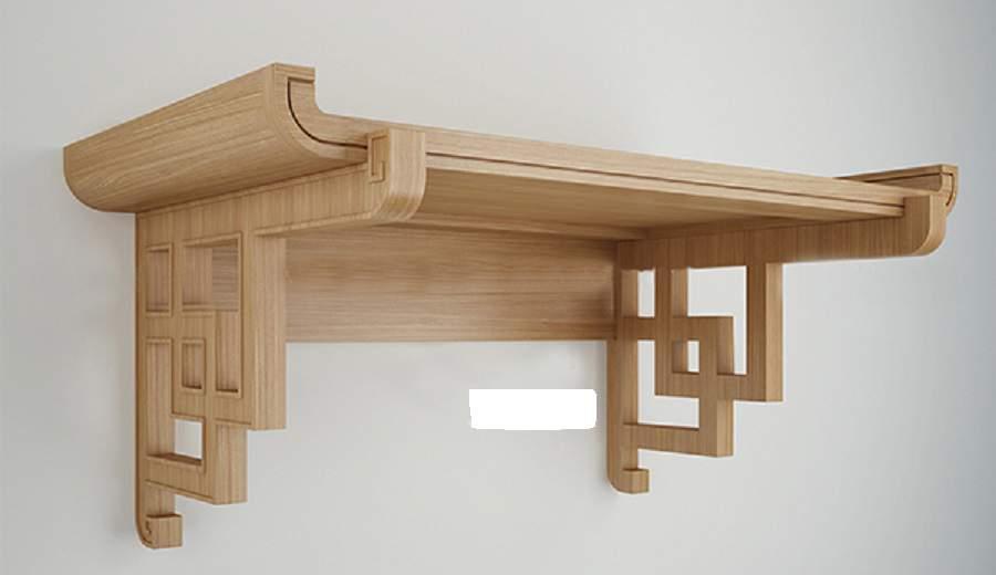 bàn thờ treo chung cư hiện đại