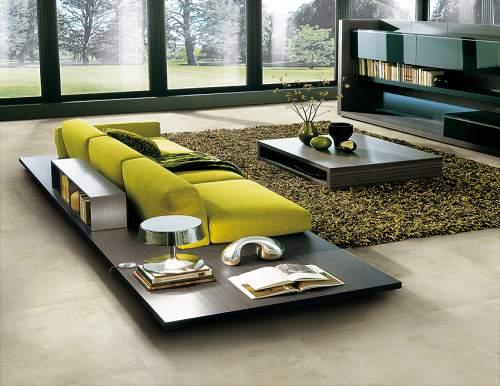 Lựa chọn màu gạch theo phong thủy cho phòng khách