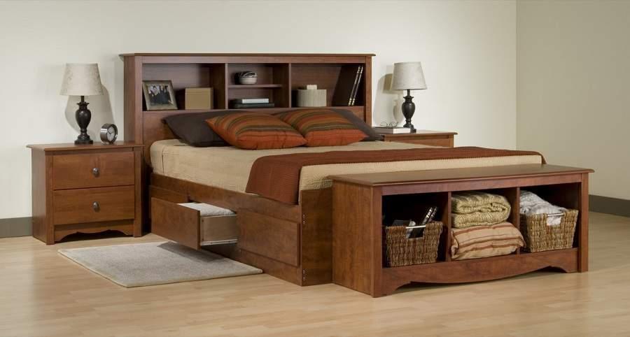 Mẫu giường ngủ đẹp có ngăn kéo tại hà nội giá rẻ