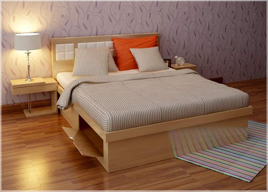 Giường ngủ đẹp có ngăn kéo tại hà nội cho nhà đẹp