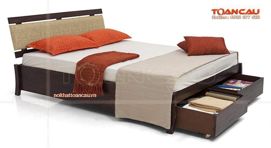 Mẫu giường ngủ đẹp có ngăn kéo tại hà nội cho nhà đẹp