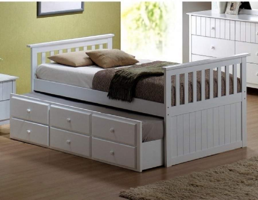 Mẫu giường ngủ đẹp có ngăn kéo tại hà nội
