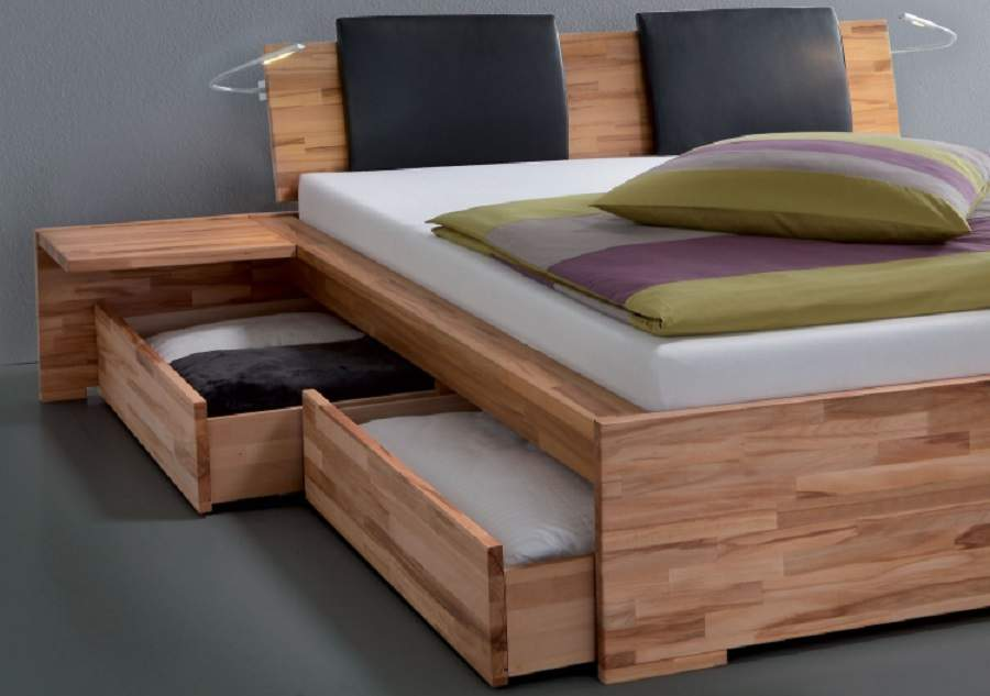Mẫu giường ngủ đẹp có ngăn kéo tại hà nội đẹp xinh tươi