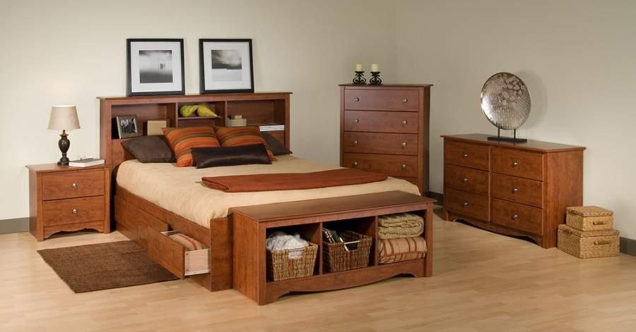Mẫu giường ngủ đẹp có ngăn kéo tại hà nội giá tốt