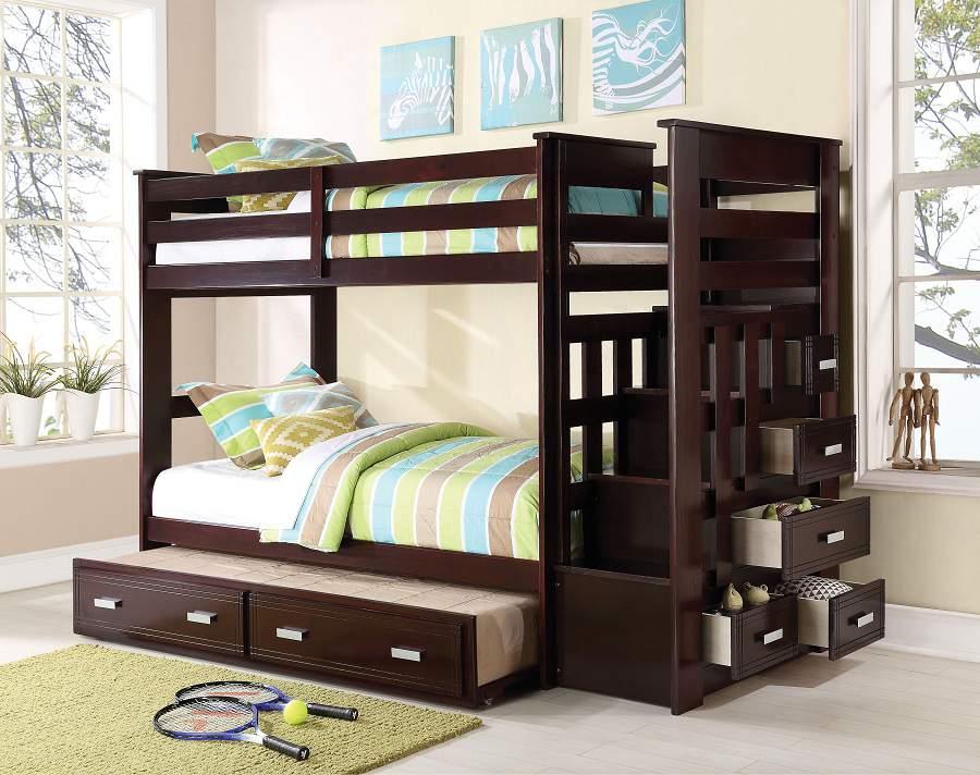 Giường có ngăn kéo ở dưới hiện đại