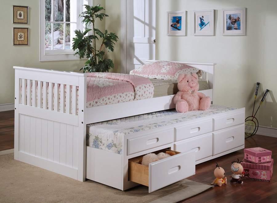 Giường gỗ có ngăn kéo giá rẻ hiện đại