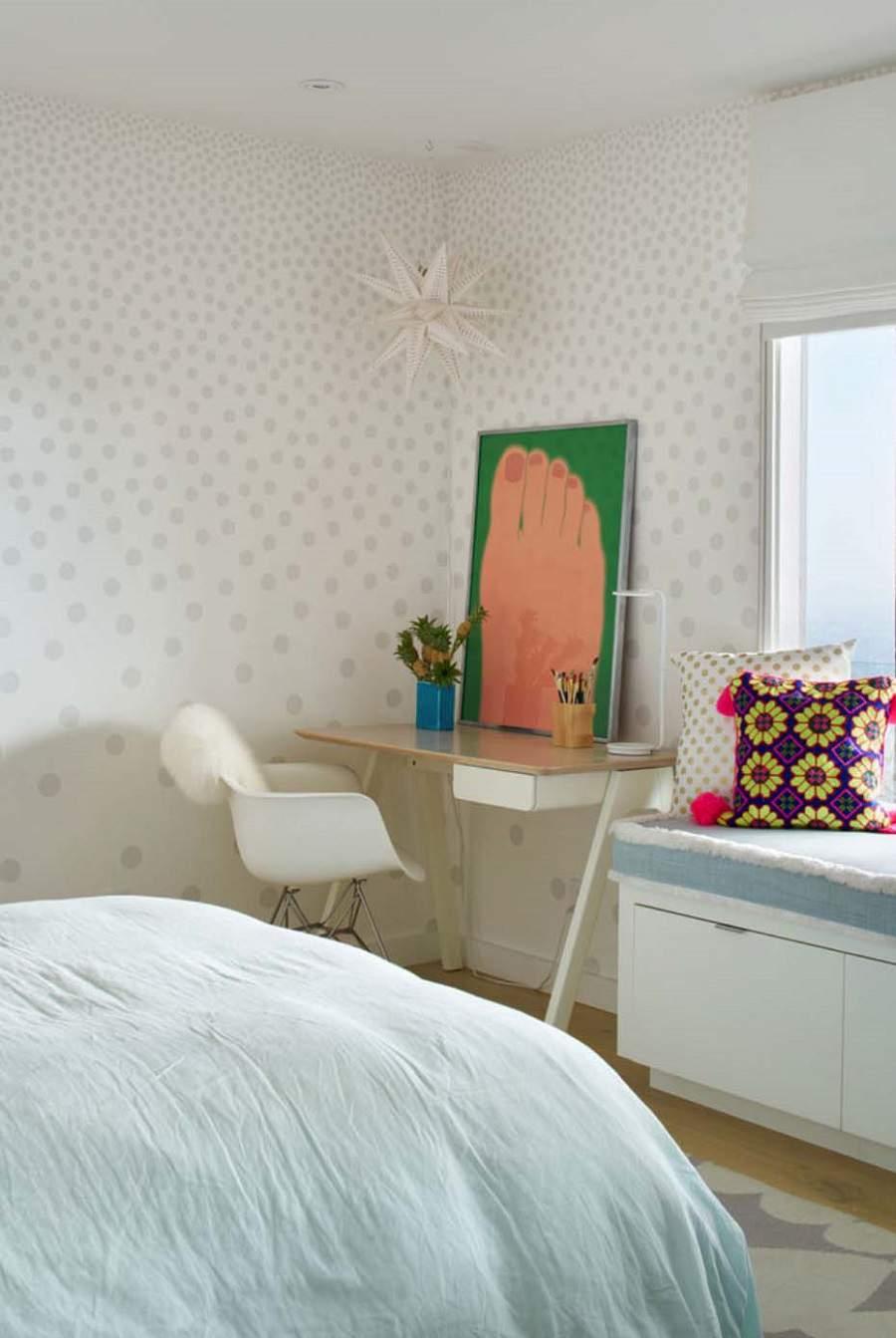 mẫu nhà cấp 4 đẹp ở nông thôn cho căn phòng của bé