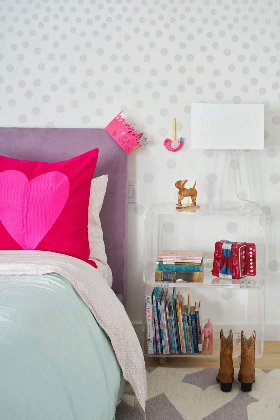 mẫu nhà cấp 4 hình chữ l đơn giản cho căn phòng của bé